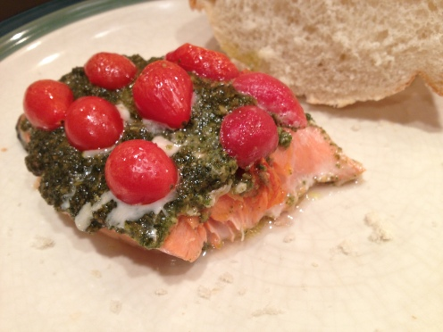 Salmon Serving