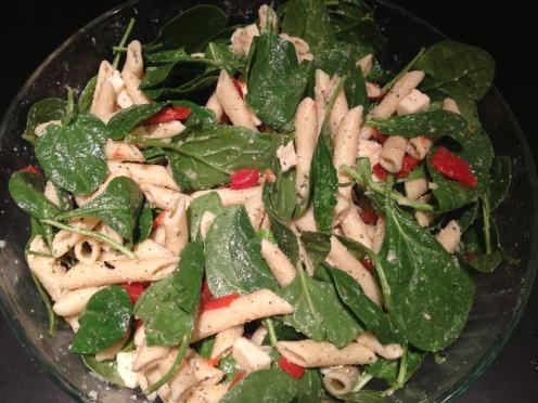 Mozzarella Penne Salad