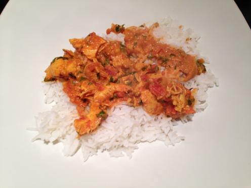 Tikka Masala with Rice