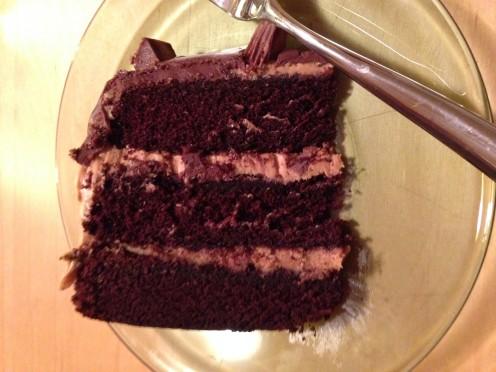 PB Cake Slice