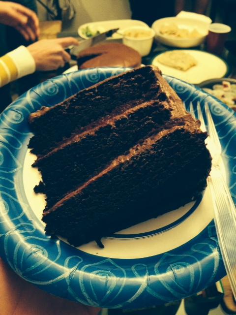 Nutella Cake Piece
