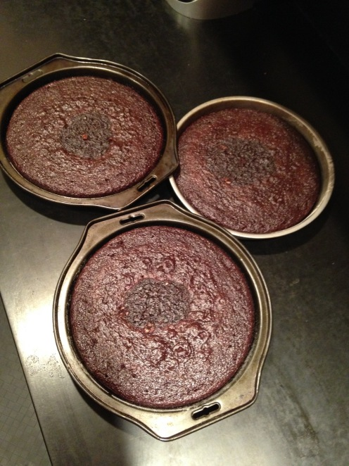 Orange Choc Cake Pans